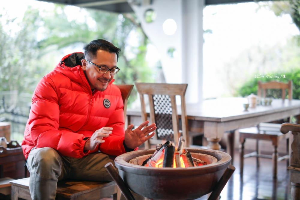 以美味為旅人暖胃,宜蘭太平山腳下的幸福旅宿:逢春園