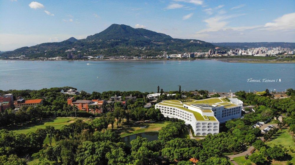 球場與河景皆美  住將捷金鬱金香酒店看見最美淡水
