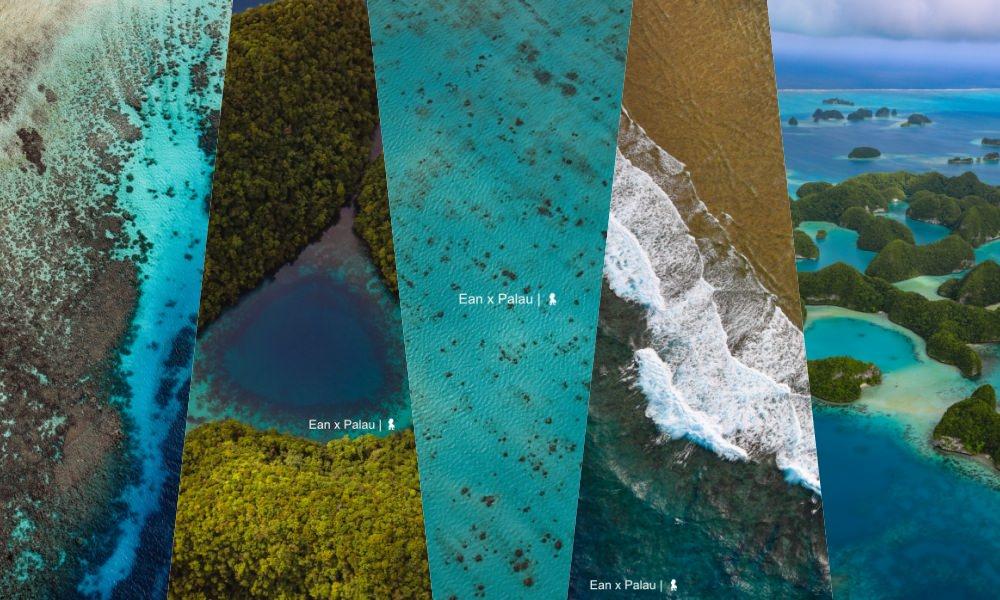 玩帛琉必體驗  搭小飛機俯瞰散落海上的世界自然遺產