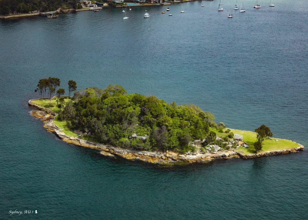 太巧合!搭水上飛機,驚見台灣島現身雪梨港灣