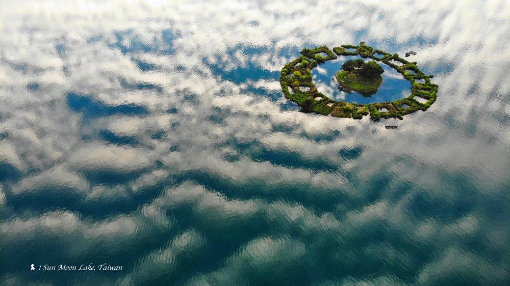 拉魯島,漂浮在日月潭的天空之城