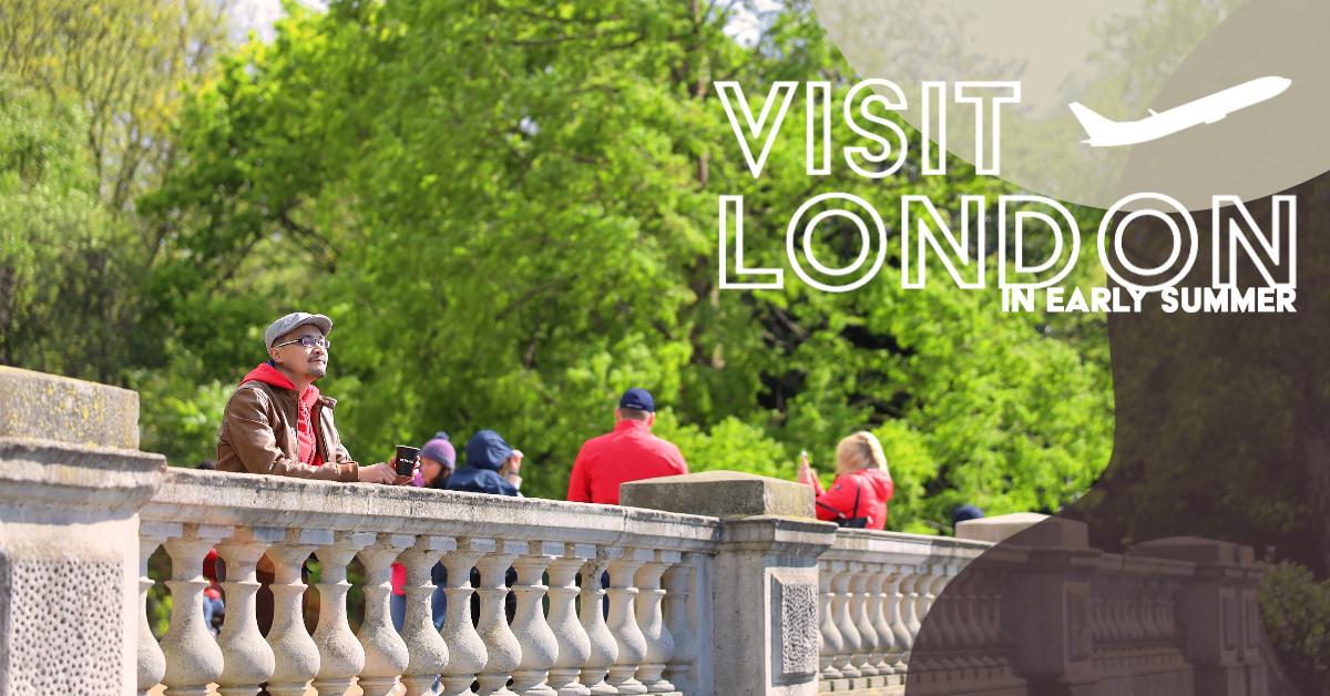 初夏倫敦。慢速度散步旅行