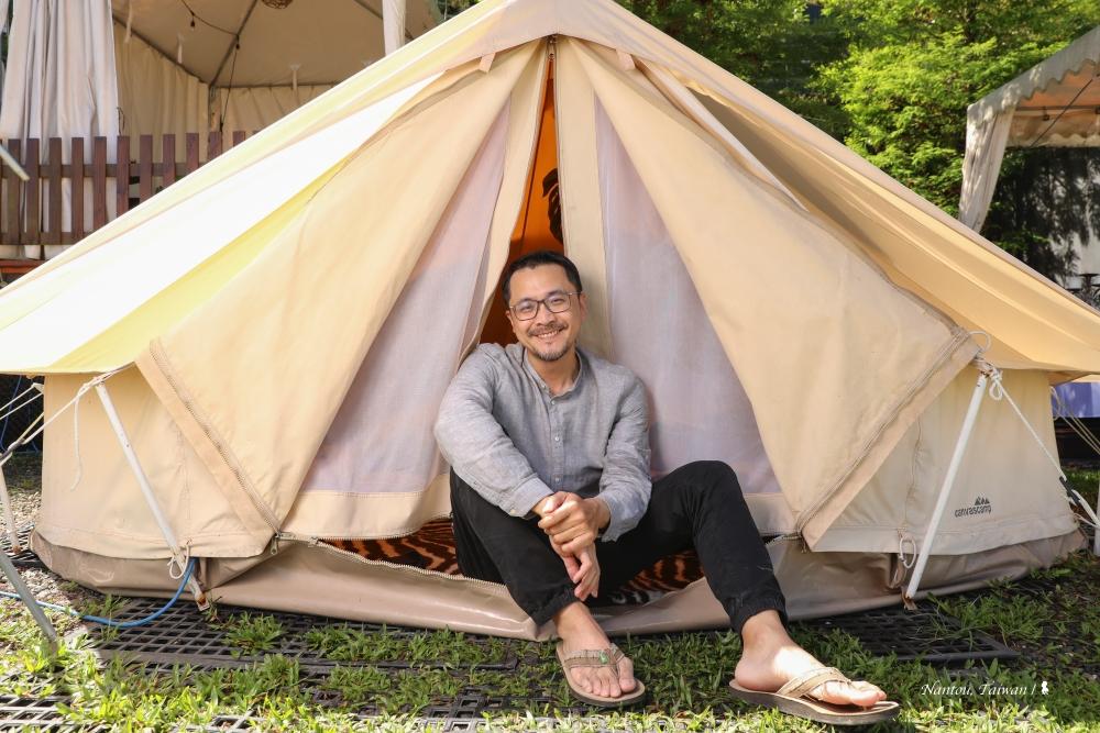南投山思雲想風格露營,難忘的海拔一千公尺職人課