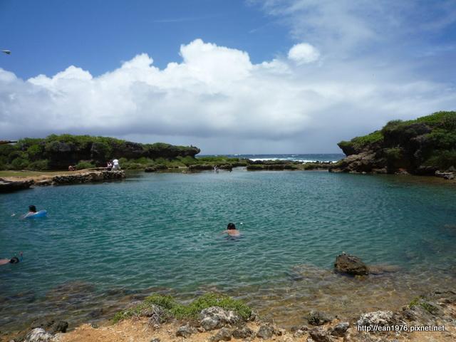 2010 春末二訪關島:關島向南走,跳吧!英納拉漢天然泳池(Saluglula Pool)