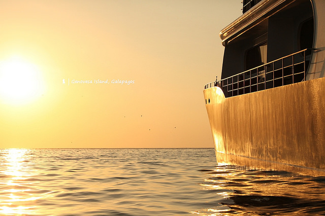 別說阿聯酋頭等艙了,來場加拉巴哥群島的頂級海上漂流-海燕號遊艇