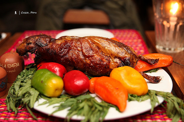 最難的一餐  祕魯庫斯科的烤天竺鼠