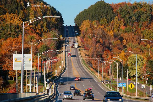 如畫的加拿大800公里楓葉大道