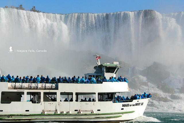 雷神之水天上來  從早到晚看不完的尼加拉瀑布