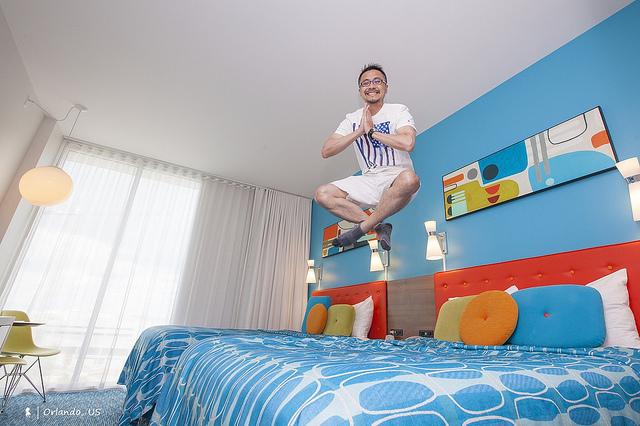 歡樂入住 Universal's Cabana Bay Beach Resort,當爽玩奧蘭多環球影城的早鳥