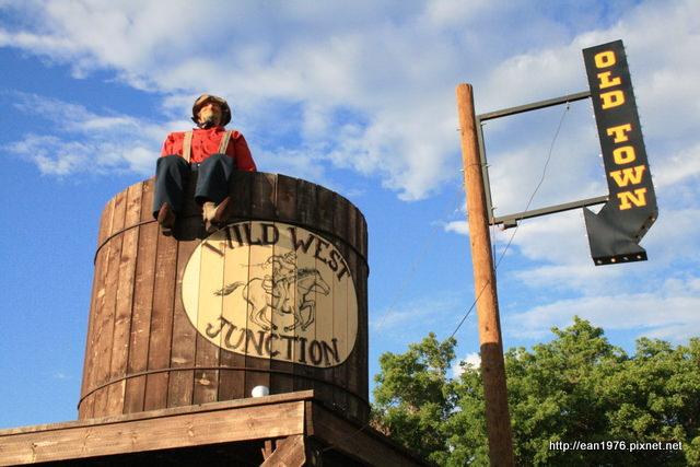 [2010 大美旅] 六福村紀念品大街真實放大版小鎮 Williams @亞利桑那州