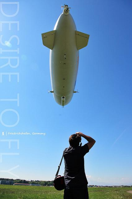 到德國搭齊柏林飛船,無聲卻激動的夢想飛翔