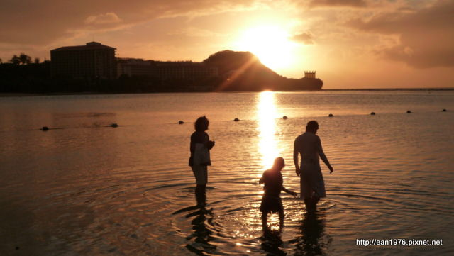 2010 春末二訪關島:幾霸昏的海景夕陽