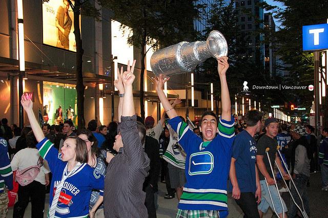 速寫史丹利盃二勝後 High 瘋的溫哥華市區