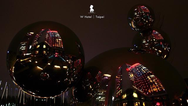 W Hotel Taipei,很帶勁的燈光遊戲空間