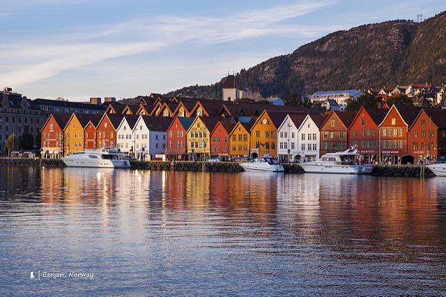 來去世界文化遺產住一晚,在挪威卑爾根的每一步都精采