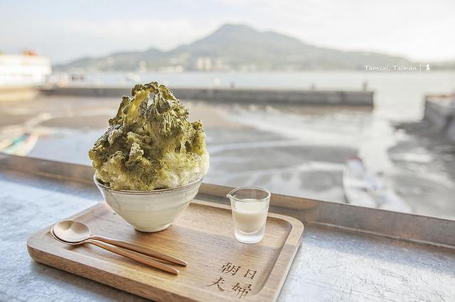 沖繩系日式刨冰:朝日夫婦,吃冰賞淡水日落好享受(2017.8.26 更新)